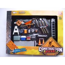 Herramientas De Construccion Diorama 1/24 Phoenix Hotwheels