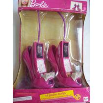 Lindos Walkie Talkie Zapatos Barbie