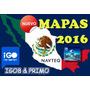 Mapas 2016 Igo Primo Igo 8 Estereos Chinos Mexico Original