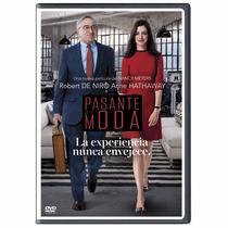 Pasante De Moda Robert De Niro , Pelicula En Dvd