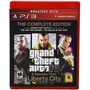 Gta 4y Episodes From  Liberty City Stories Ps3-------mr.game