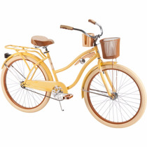 Bicicleta Mujer 26 Huffy Nel Lusso Cruiser