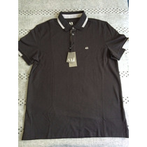 Playera Polo Armani Exchange Ax Talla L Color Negra