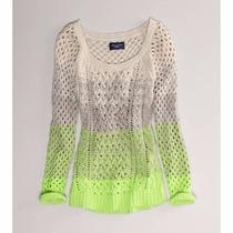 Sweaters American Eagle Xs-s Orig. Nuevo,jeans,vestidos,shor