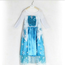 Vestido Elsa Frozen Hermoso!!!