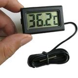 Termómetro Digital Lcd Externo Refrigerador Acuario Marino