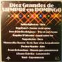 Diez Grandes De Siempre En Domingo 1 Disco Lp Vinilo