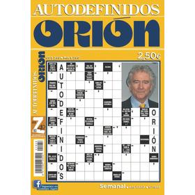 Autodefinidos Orión ( Paquete 15 Revistas)