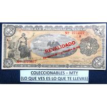 Billete De 1 Peso Del Gobierno Provicional De Mexico 1914