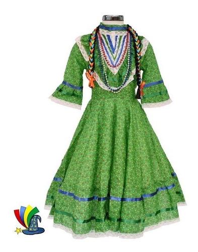 Disfraz Vestido Adelita Revolucion Mexicana Para Niña En
