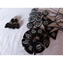 Dijes Con Simbolos Prehispanicos En Obsidiana