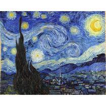 Lienzo Tela Cuadro La Noche Estrellada Vincent Van Gogh 1889