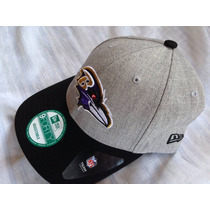 Nfl Baltimore Ravens Cuervos Gorra New Era Adjustable