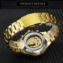 3f0b98f2ebfb Reloj Winner Hombre Automático Skeleton Calavera Skull en venta en ...