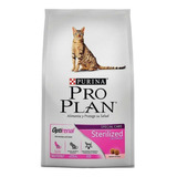 Alimento Pro Plan Sterilized Gato Adulto Salmón/arroz 3kg