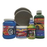 Kit Para Limpieza De Autos Completo Contiene 7 Artículos