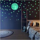 Estrellas Fluorescentes 100 Pzas  Decoracion Dormitorio