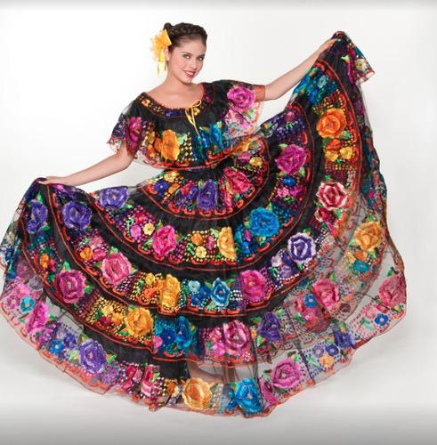 5901688571 Vestido Chiapaneca Regional Tipico Chiapas Profesional en venta en ...