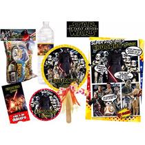 Invitacion Star Wars Kit Imprimible Personalizado