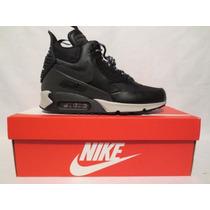 Nike Air Max 90 Sneakerboot Anti-agua Reflejantes Jordan Nba