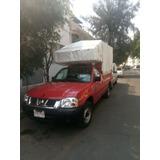Renta Camionetas De Carga Con Chofer Np300 Fletes Viajes