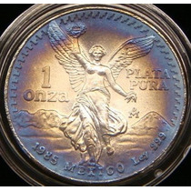 Moneda Mexico 1985 1 Onza Troy Patina Hermosa