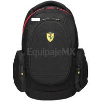 Mochila Ferrari Para Laptop 100% Original Modelo Tf015b-b