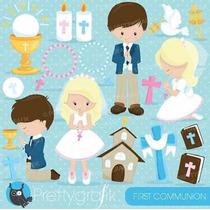 Kit Imprimible Comunion Imagenes Clipart