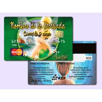 Publicacion Especial 30 Invitaciones Tipo Tarjeta Bancaria