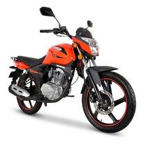 Moto Italika Dt150 Sport Naranja / Negro