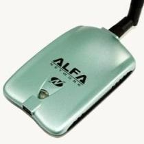 Tarjeta Alfa Usb 2000mw 2w 2watts Wireless N Antena 5dbi
