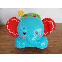 Elefante Montable Fisher Bebes Musical Sonidos #a107