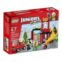 Lego Juniors Fuego Emergencia 10671 Edificio Set