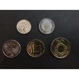 Coleccion De 5 Monedas De Islas Salomon