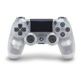 Control Joystick Sony Dualshock 4 Crystal