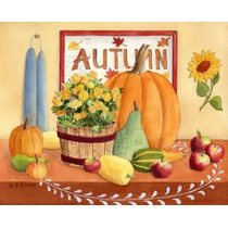 Poster (50 X 41 Cm) Autumn Table Maureen Mccarthy