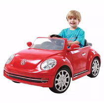 Carrito Montable Electrico Vw Beetle Para Niños 6v