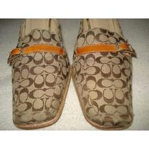 Zapatos Coach 4mex Seminuevos Made In Italy Ganalos ¡¡¡