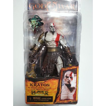 Kratos Con Cabeza De Medusa Neca