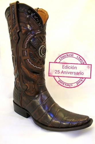 acogedor fresco mejor sitio mejor selección de Bota Cuadra Edición 25 Aniversario Piel De Cocodrilo M 75 en ...