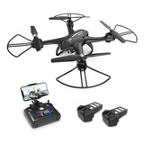 Drones Con Cámara 720p 2mp Fpv 120° Fov Holy Stone Hs200d