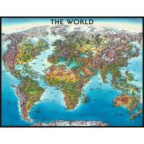 Puzzle Ravensburger 2000 Piezas Mapamundi 16683 Colibri Game