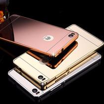 Funda Bumper Case Espejo Lujo Huawei P8, Mate 7, 8, G7, G8