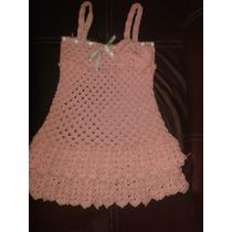 Vestidos Tejidos Para Niña Cada Uno 170 Hermosos!! Talla 6