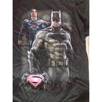 Playera Batman Vs Superman Niño Original Importada