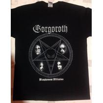 Playera Gorgoroth, Pago Contra Entrega, Serigrafía