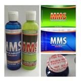 Mms Clorito De Sodio Y Activador De 120 Ml C/u Dioxido