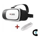 Vr Box Lentes 3d Real Virtual 2.0 + Control Bt Envío Gratis
