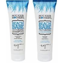 Bebé De La Playa Retexturizante Shampoo 8 Oz De Not Your Mot