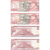 Billetes 20 Pesos Morelos Nuevos